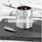 Stainless Steel304 cartridge shot glass double wall whiskey/wine chilling cup