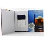 Ceramic whiskey stones 9pcs/set gift box